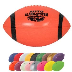 Mini Re-inflatable Vinyl Football w/End Stripes - 7